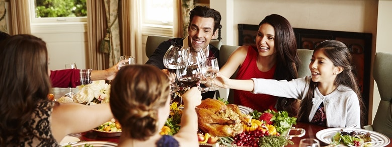 Lifestyle Studio Chef's Table Family Holiday Toast