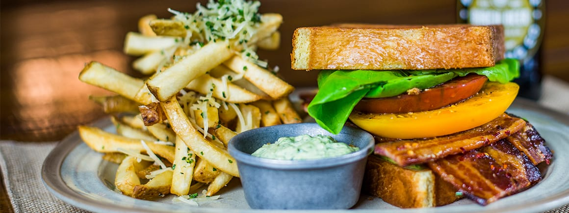 BLT with fries