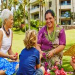 Lei Making on Maui