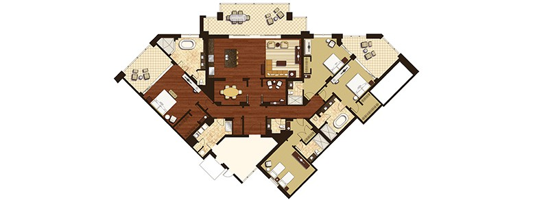 Four Bedroom Premier Ocean Grand Residence
