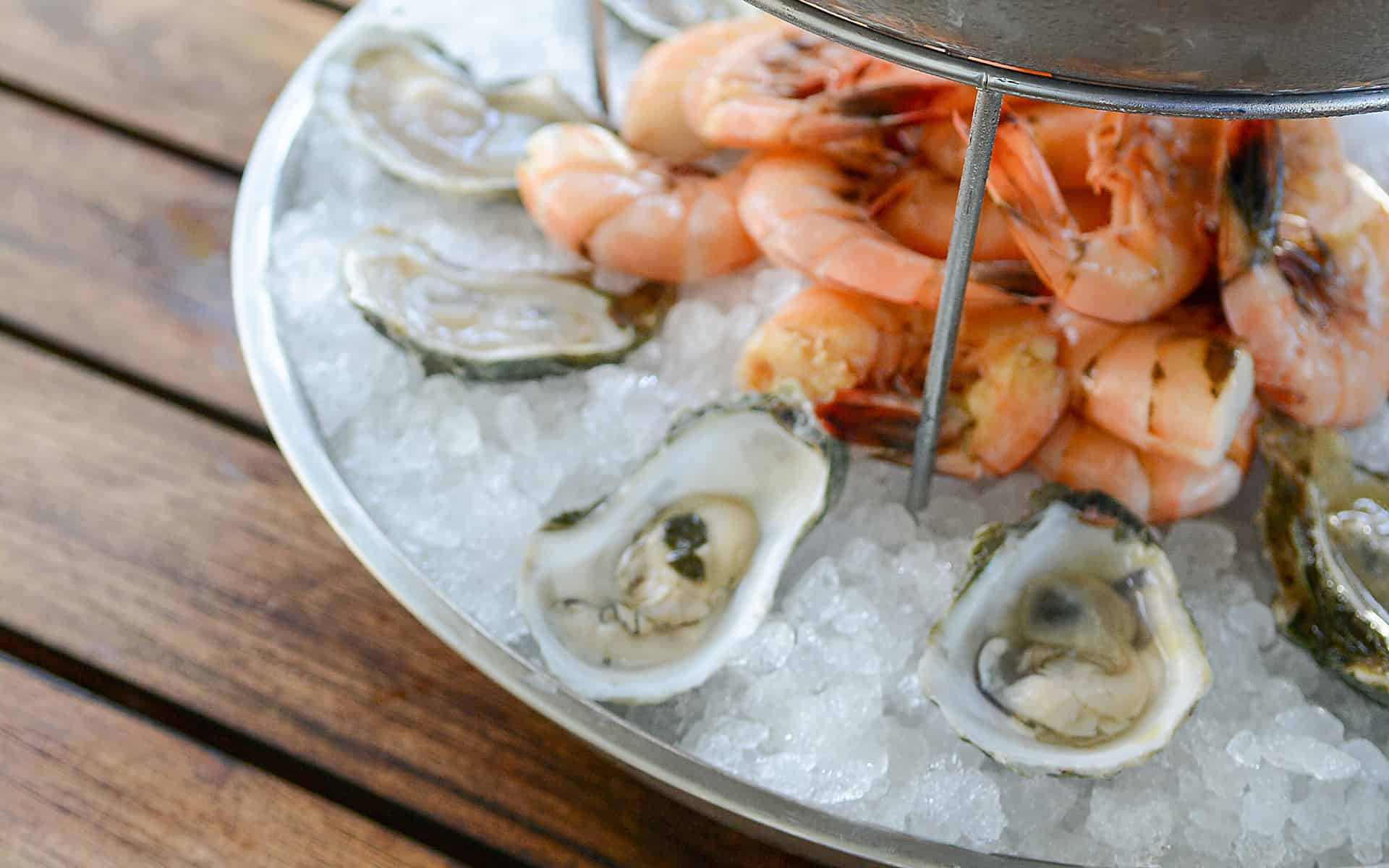 May River Oysters and Shrimp