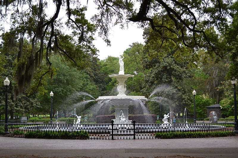 Forsyth Park in Savannah
