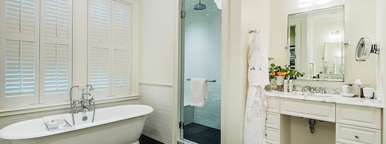 Guest House Suite Bathroom