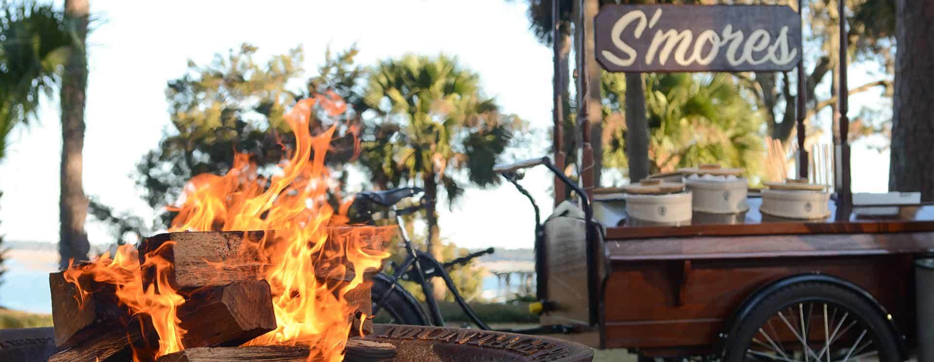 S'mores at Montage Palmetto Bluff