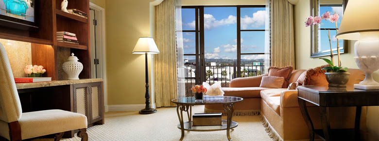 Beverly Terrace Suite Living Room