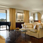 Presidential Suite Living Room at Montage Beverly Hills