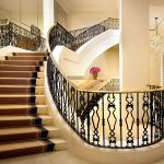 Grand Staircase in the Lobby at Montage Beverly Hills