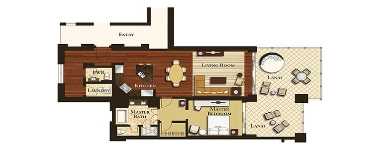 MKB-Architectural-1 Bedroom Floorplan Labeled-Slider