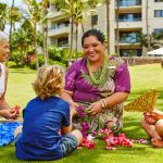 Authentic Hawaiian Lei Making at Montage Kapalua Bay with Cultural Ambassador