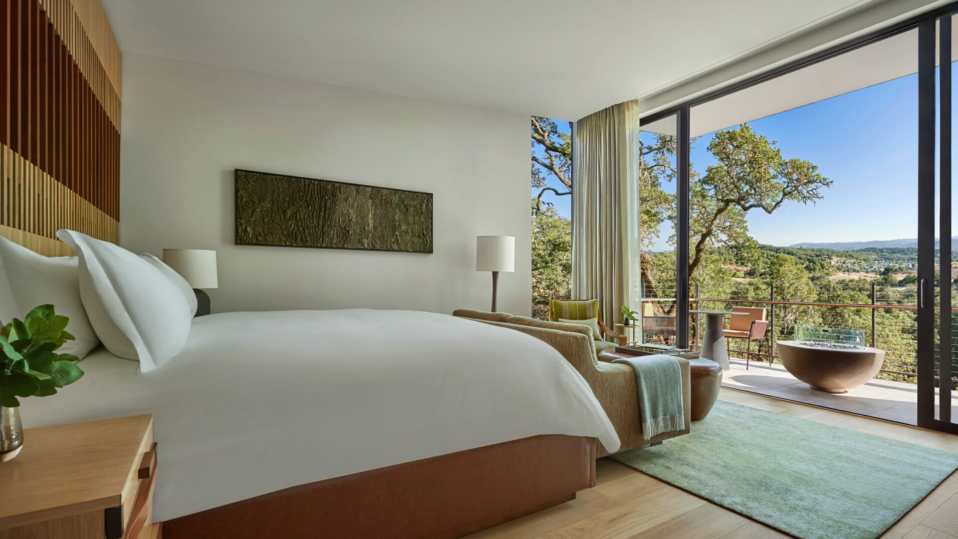 Mountain View Guestroom
